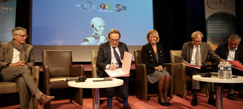 Les Départements des Hauts-de-Seine et des Yvelines lancent l'agence interdépartementale de l'autonomie